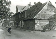 """""""Reismanns Piädstall"""" an der Hauptstraße. Heute befindet sich ein Reisebüro an gleicher Stelle (Bild: Aloys Pohlmann)"""