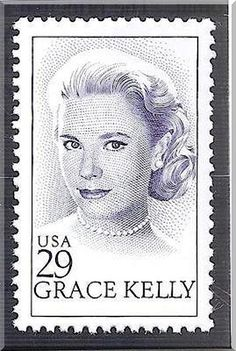 Grace Kelly was a Girl Scout! The US Postal Service and the Principality of Monaco jointly issued commemorative stamps on March in Hollywood, California, and Monaco, to honor Grace Kelly, Academy Award-winning American actress and princess of Monaco. Old Stamps, Vintage Stamps, Vintage Stuff, Princesa Grace Kelly, Etiquette Vintage, Postage Stamp Collection, Commemorative Stamps, Postage Stamp Art, Going Postal