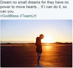 A powerful quote by Lewis Hamilton.....  Make Today Count  #TeamLH #wintogether #triplechamp