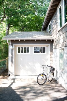 Not only meant to house a vehicle and bikes, the garage can also function as a hangout spot, creative space or jam room.