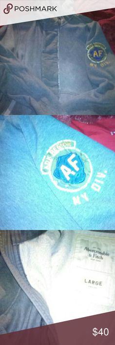 Men's abercrombie hoodie Men's Gray abercrombie hoodie Abercrombie & Fitch Shirts Sweatshirts & Hoodies