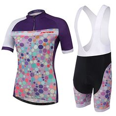 2015 Free Shipping Hot Quick Dry Team MTB Road Bike Summer Cycling Jersey For Women Racing Bicycle ClothesBreathable Clothing Bib Pants with size M *** Details can be found by clicking on the image.Note:It is affiliate link to Amazon.
