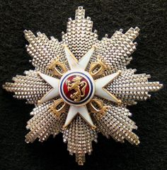Order of St. Olav: Norway e. Order of the Gold Lion of the House of Nassau