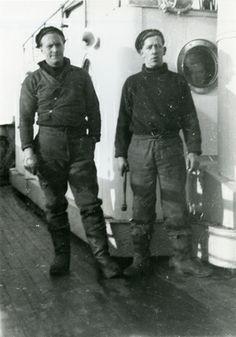 Nöytralitetsvakter i Mehamn  wartime sailors