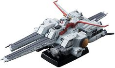 Measuring more than 6-1/2 long, this super-detailed replica of the SCVA-76 Nahel Argama comes with a firing Hyper Mega Particle cannon and 4 scaled figures!