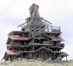 Cowboy Mansion,Wyoming ...