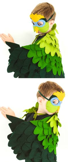 Novelty & Special Use 3-8 Y.o Special Lovely Parrot Wing Toys Girls Costume Christmas Costume For Kids Girls Party Beauty Costumes Cosplay Suit Comfortable Feel Costumes & Accessories