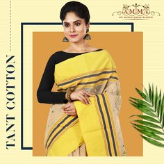 Opt for Tant from the exclusive collection from Cotton Sarees Online, Mahatma Gandhi, Online Collections, Exclusive Collection, Sari, Beautiful, Fashion, Saree, Moda