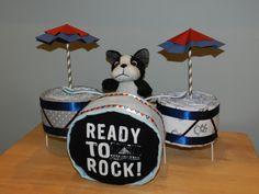 Diaper Cake Drum Set
