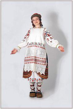 Брянский народный костюм из коллекции С.Глебушкина