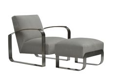Buy Dee Lounge Chair and Ottoman by Donghia - Quick Ship designer Furniture from Dering Hall's collection of Contemporary Lounge Chairs.