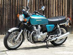 Blue, by White House, Japan Honda Bikes, Honda Motorcycles, Womens Motorcycle Helmets, Motorcycle Girls, Honda Cb1100, Ducati Monster Custom, Vintage Bikes, Vintage Motorcycles, Touring Motorcycles