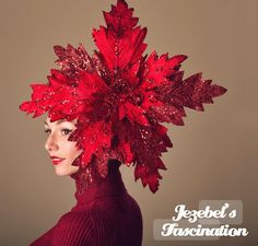 Items similar to Huge Red Glitter Poinsettia Fascinator Giant Winter Headpiece Tacky Ugly Christmas Sweater Headdress Large Quirky Yule Party Hair Flair on Etsy White Christmas Outfit, Diy Ugly Christmas Sweater, Christmas Hat, Christmas Costumes, Christmas Crafts, Xmas, Ugly Sweater, Christmas Wedding, Christmas Ideas