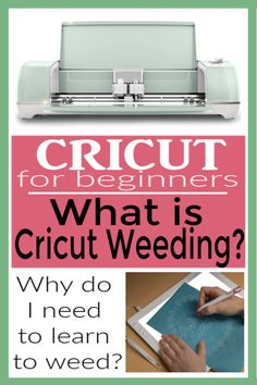 What is Cricut Weeding? Learn what Cricut weeding is and why you need to know how to do it. I am addicted to weeding. Cricut Explore Projects, Cricut Explore Air, Vinyl Projects, Circuit Projects, How To Use Cricut, Cricut Help, Cricut Air 2, Cricut Vinyl, Weeding Tips
