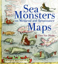 Sea Monsters on Medieval Maps