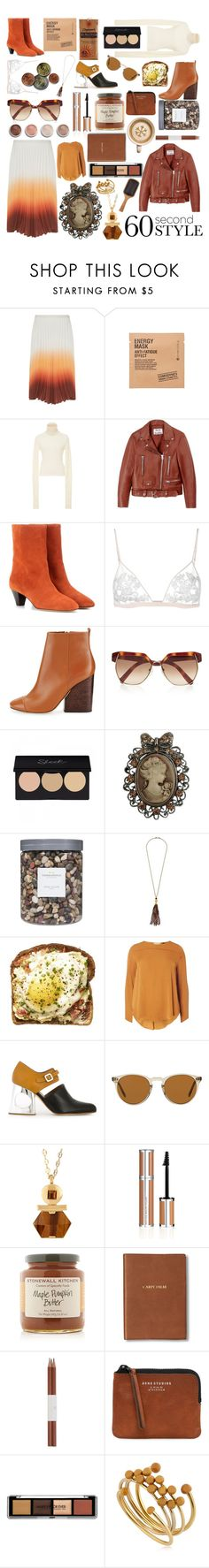 """""""Untitled #62"""" by bianca0813 ❤ liked on Polyvore featuring J.W. Anderson, Comodynes, Marisa Witkin, Acne Studios, Isabel Marant, La Perla, Tory Burch, Chloé, Cameo and Threshold"""
