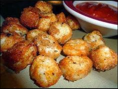 Yumm recipes: Baked Mozzarella Bites