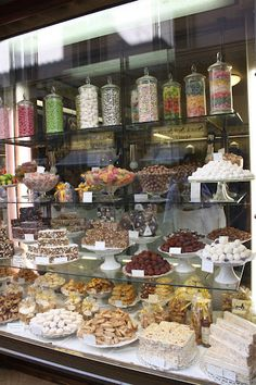 The shops in Florence provide a feast for the eyes as well.