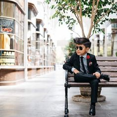 This 8-year-old boy has more swagger than you