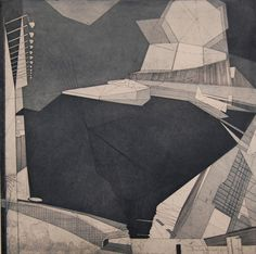 Bronwen Sleigh printmaker at &Collective Art Gallery Bridge of Allan