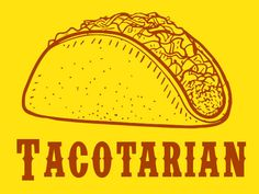 FUNNY TSHIRT tacotarian tshirt  kids taco cool by 9dollartshirts