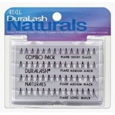 Ardell Duralash Naturals Flare Combo Pack  - Wimperwensen.com