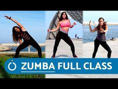Zumba Workout Videos, Youtube Workout, Cardio Workout At Home, Insanity Workout, Barre Workout, Toning Workouts, Hip Workout, At Home Workouts, Zumba Workouts