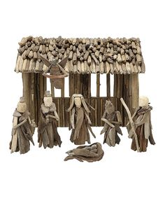 Look at this Driftwood Nativity Set on #zulily today!