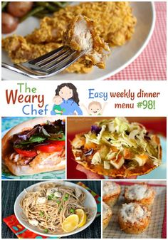 Easy Weekly Dinner Menu #98: Easy Dinner Recipes for You!