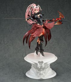 Seven Deadly Sins Pride statuette 1/8 Lucifer Paint in Black Version Orchid Seed