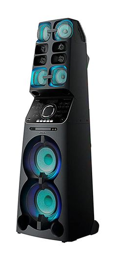 This is Sony Onebox All-in-One Music System with Lighting Effects. the Sony bass quality is always best. Sony 55, Audio In, Music System, Club Style, Light Effect, Wide Angle, All In One, Speakers, Krishna