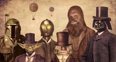 """'Star Wars' Fandom Might Be Stronger Than Ever, And So Is The Fan Art / The force is strong with these """"Star Wars""""-obsessed illustrators, photographers and painters."""