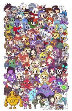 fanart & cosplay - League of Adorables