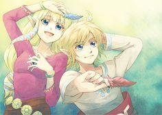 Zelda & Link   #SkywardSword