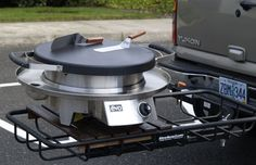 Tailgating with the Evo Circular Cooktop! #Evo