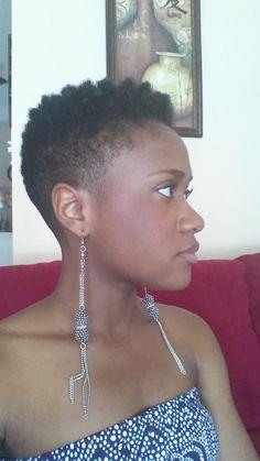 Tapered Twa Hair