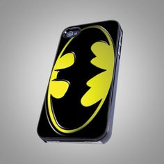 Batman Dark Knight Rises Shield Logo - Print on Hard Cover - For iPhone 4/4S Case and iPhone 5 Case  $14.99 usd