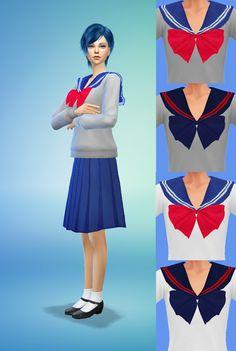 [ Sims 4 ] School Uniforms