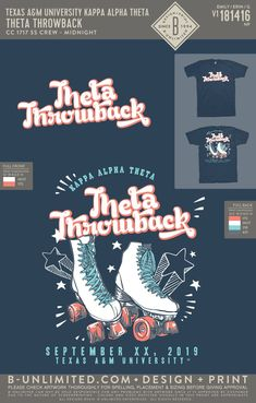 Kappa Alpha Theta Throwback Shirt | Sorority Theta Throwback Shirt | Greek Theta Throwback Shirt #kappaalphatheta #theta #kao #kat #Theta #Throwback #Shirt