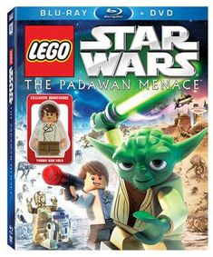 LEGO Star Wars BluRay  DVD Combo Pack The Padawan Menace Includes Exclusive Young Han Solo MiniFigu @ niftywarehouse.com #NiftyWarehouse #Geek #Products #StarWars #Movies #Film