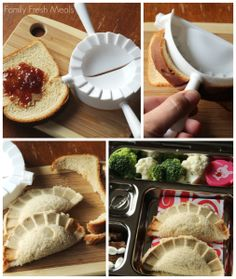 Turn a boring sandwich into WOW in seconds! Easy Lunchbox Ideas for the Family - FamilyFreshMeals.com