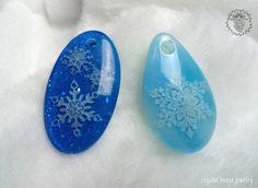 Snowflakes pendants