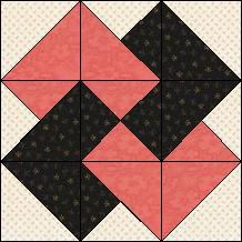 Block of Day for August 10, 2015 - Black Jack inklingo diamond/triangle/square free\