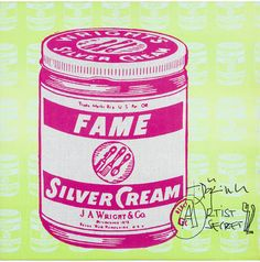 Untitled (Fame Silver Cream)
