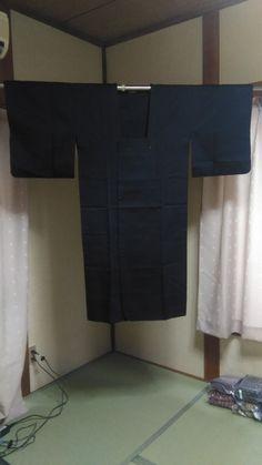 Women's Silk Haori (Kimono Coat), Japanese vintage traditional kimono coat by FlatRiver on Etsy