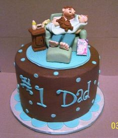 The Most Stylish Birthday Cake Ideas For New Dad New Daddy Birthday Cake For Birthday Cake Ideas For New Dad