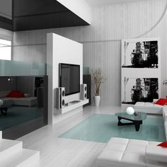 Living Home Interior design Wallpaper