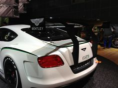 Picture of the Bentley Continental GT3 Racing Concept    Photos courtesy of Steve Cypher    2012 LA Auto Show in Los Angeles, California     nice BENTLEY photo found on the web