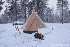 A heated tent is a fantastic way to spend the long, dark nights of winter outdoors, particularly in the deep cold of the far north.  While a modern four-seaso
