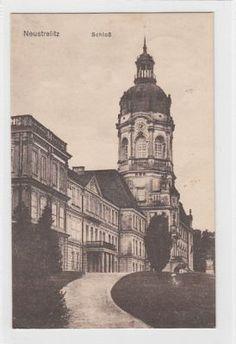 Alte Ansichtskarte Neustrelitz Schloß